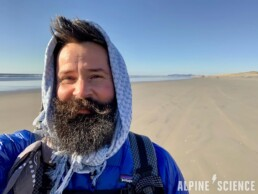 Trace Richardson on Oregon Coast Trail