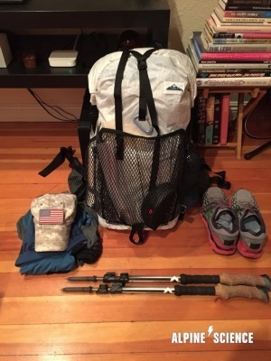Ultralight Backpacking Base Weight