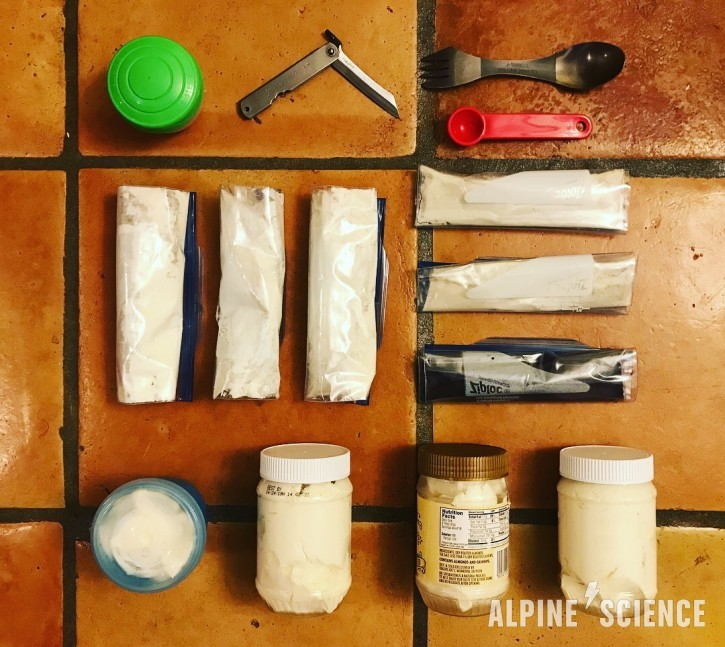 Keto Backpacking With 3 Pounds of Cream Cheese