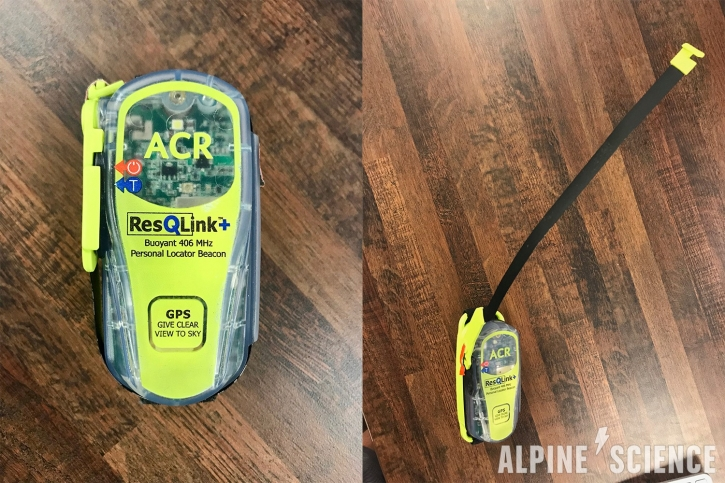ACR ResQLink+ PLB for Backpacking and Sailing