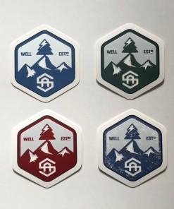 Alpine Science Logo Sticker