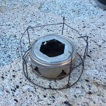 Backpacking Alcohol Stove