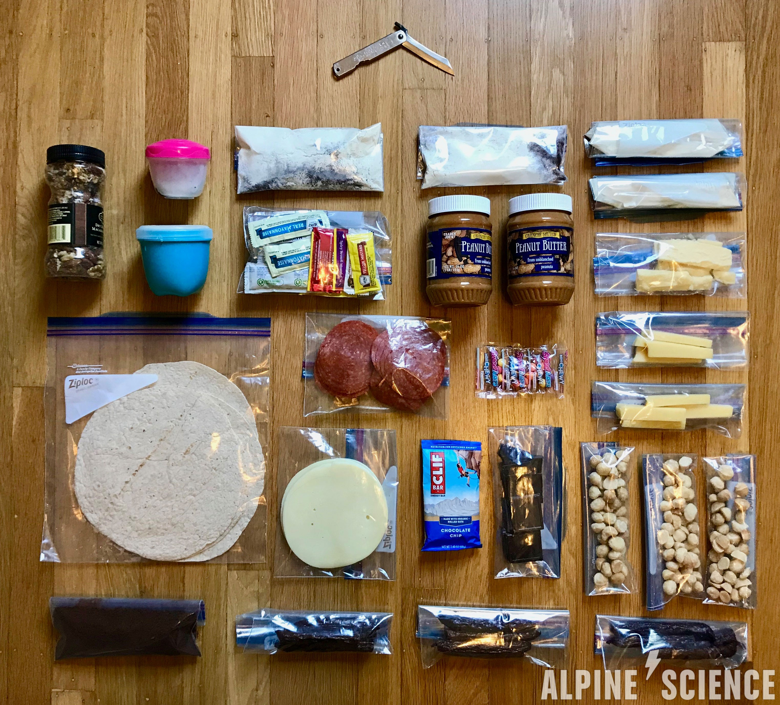 Keto Backpacking Food Basics for