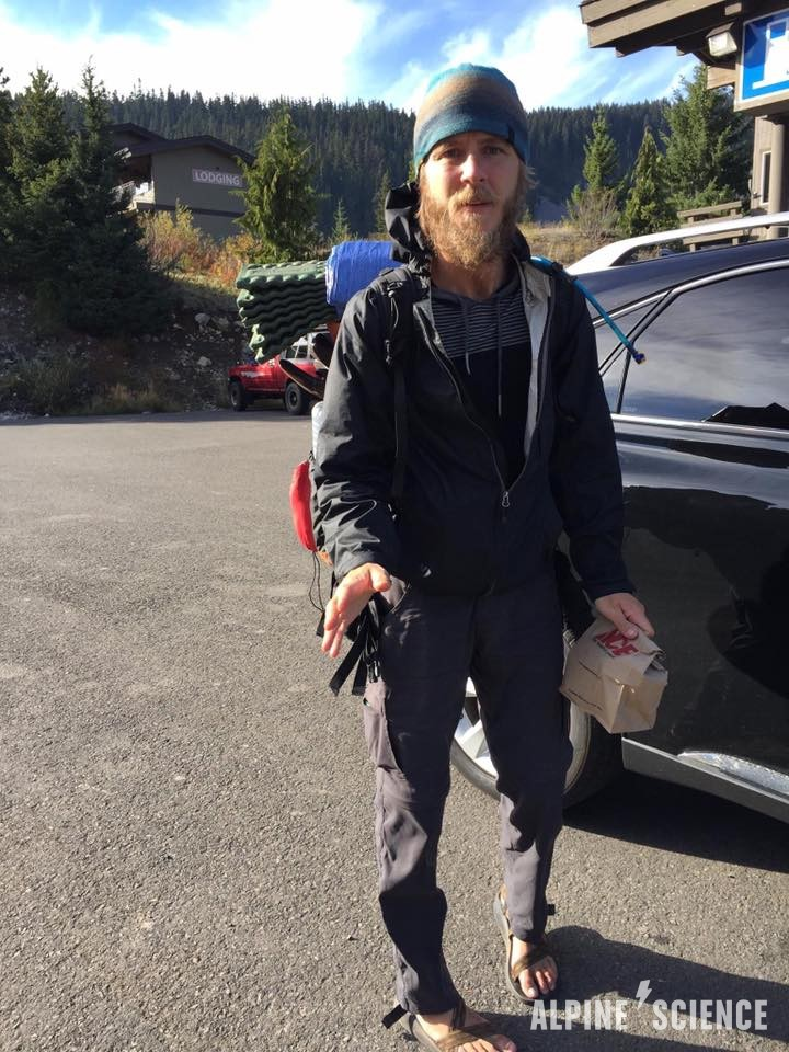 Kris Fowler Missing PCT Hiker Flyer