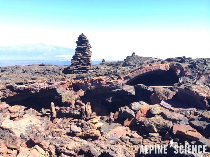 Mauna Loa Volcano Cairns, Big Island Hawaii