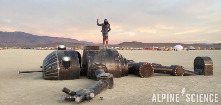 Trace Richardson Burning Man Robot 2016