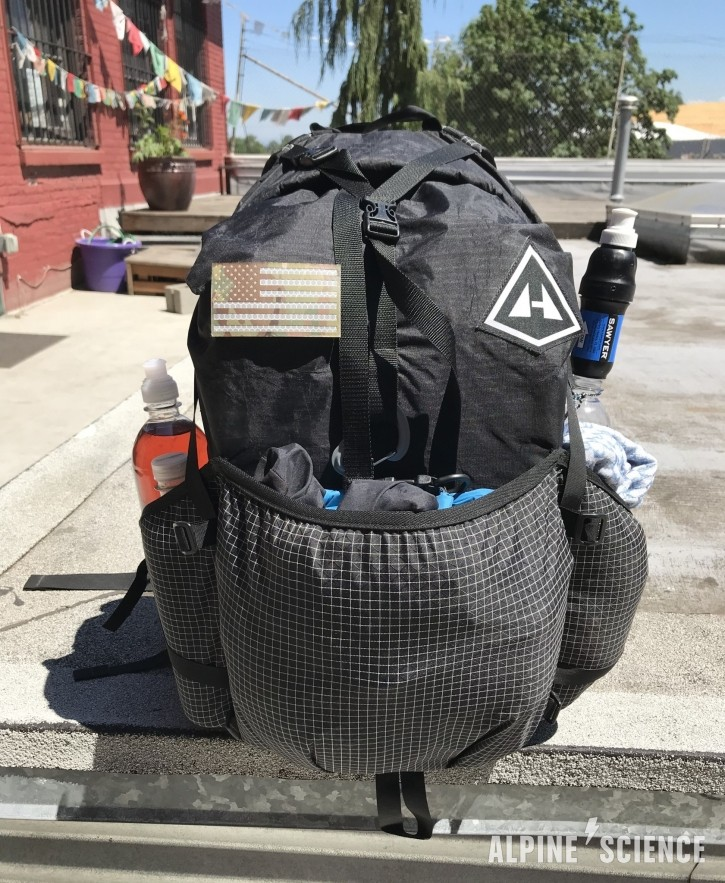 Ultralight Backpacking Rig for Kris Fowler Search out of White Pass, WA